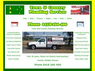 Town And Country Plumbing Website
